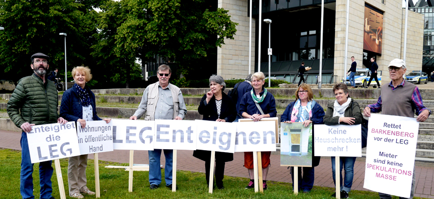 Pressekonferenz zur LEG, Landtag 17.5.2019